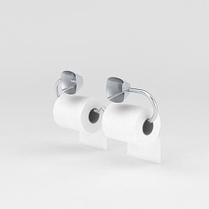 厕所纸筒模型