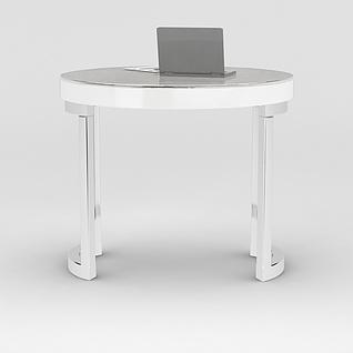 办公圆桌3d模型