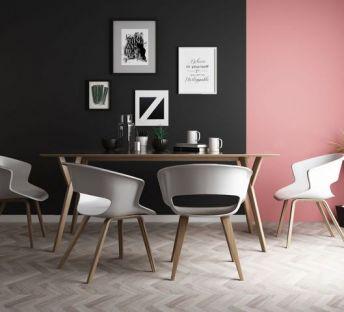 现代餐厅桌椅组合