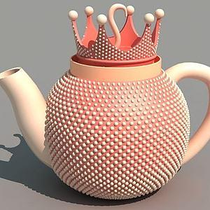 皇冠茶壶模型