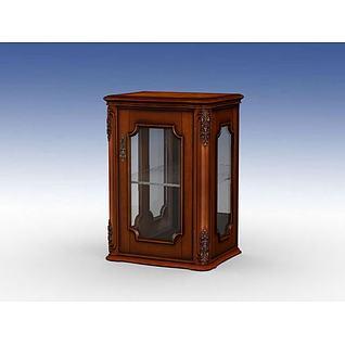 古典边柜3d模型