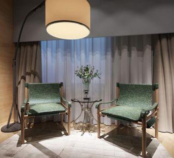 现代休闲椅子茶几组合