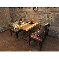 loft复古工业风桌椅3D模型3d模型