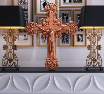 耶稣十字架台灯组合