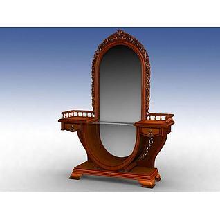梳妆柜3d模型
