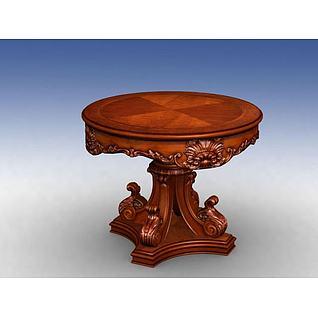 花桌3d模型