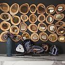 木头年轮墙饰模型
