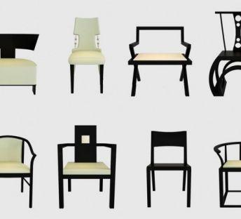 新中式单椅集合