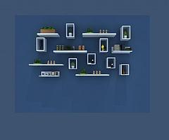 植物墙摆设模型3d模型