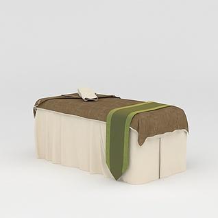 美容床3d模型3d模型