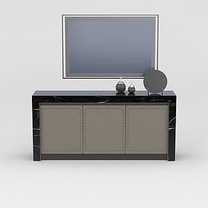 电视柜模型
