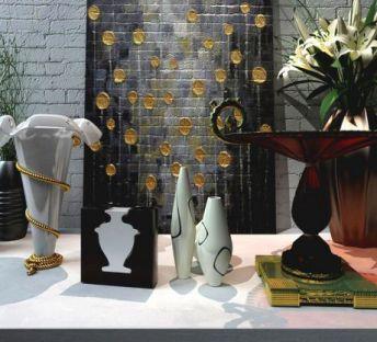 中式装饰品摆件组合