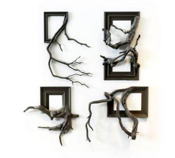 木根朽木墙饰品组合
