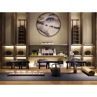 中式茶室3d模型3d模型