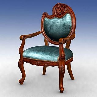 精美椅子3d模型