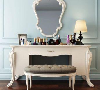 欧式梳妆桌椅