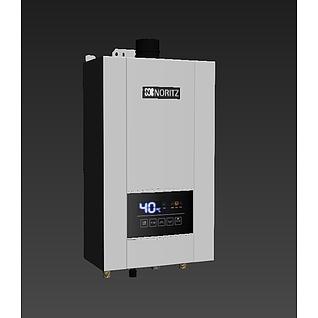 能率热水器E43d模型3d模型