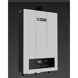 能率热水器f33d模型