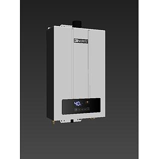 能率热水器f43d模型