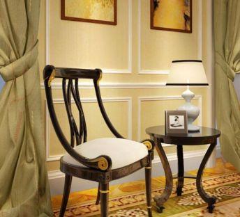 创意古典椅子边几组合