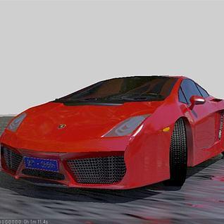 超级跑车3d模型