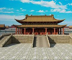 故宫建筑模型3d模型