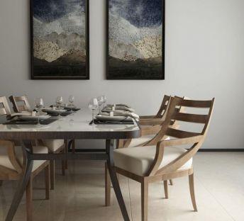 北欧现代时尚餐桌椅