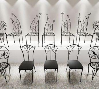 铁艺椅子合集