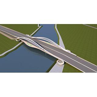 大桥3d模型3d模型