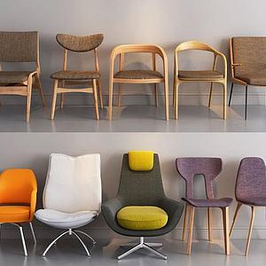 3d休闲单椅模型