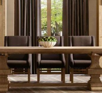 美式碗柜餐桌椅
