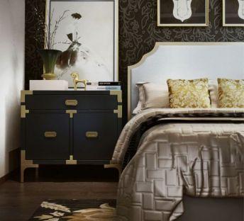 现代床头柜床具组合