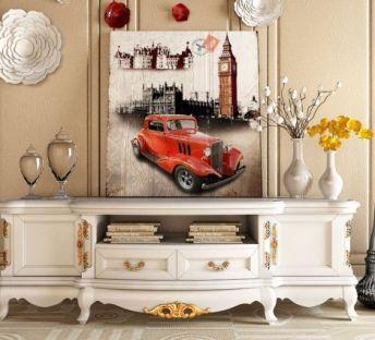 欧式电视柜挂饰瓶子器皿