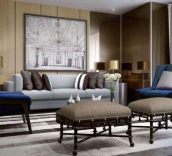 现代创意沙发矮椅子组合