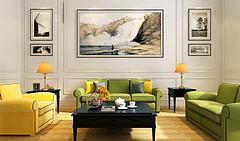 现代古典沙发茶几模型3d模型