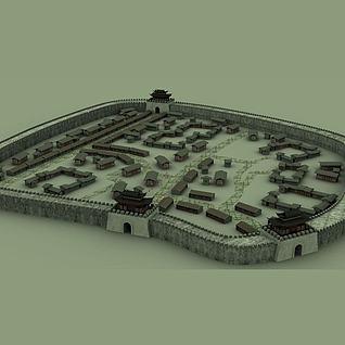 古城3d模型