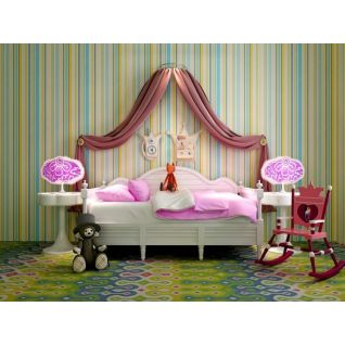 公主系列女孩床3d模型3d模型