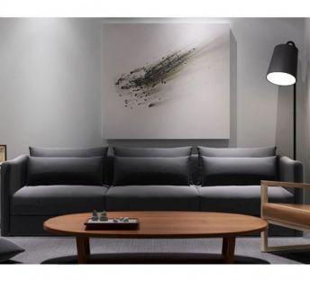 现代简约沙发椅子组合