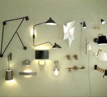 超简约壁灯组合
