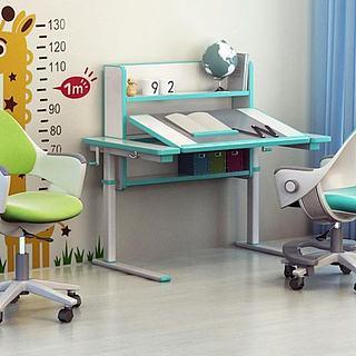 儿童学习桌椅3d模型