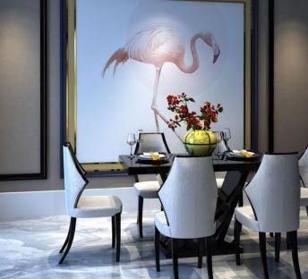新中式餐厅桌椅