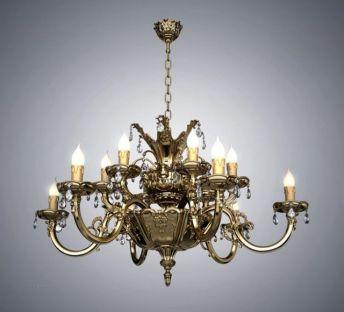古典欧式金属吊灯