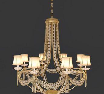 华丽水晶吊灯