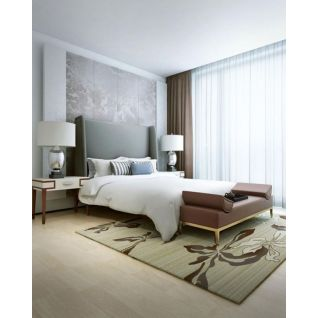 现代床具床头灯组合3d模型