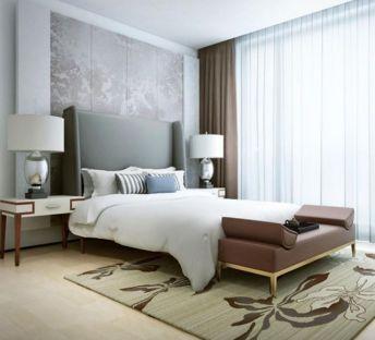现代床具床头灯组合