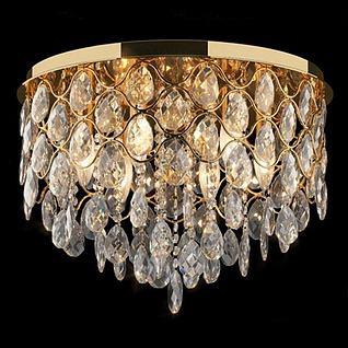 华丽水晶吸顶灯3d模型