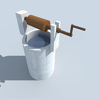水井3d模型