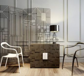 创意简约椅子柜子组合