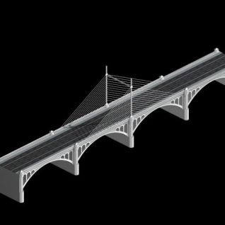 城市桥梁3d模型