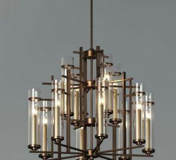 新古典玻璃吊灯